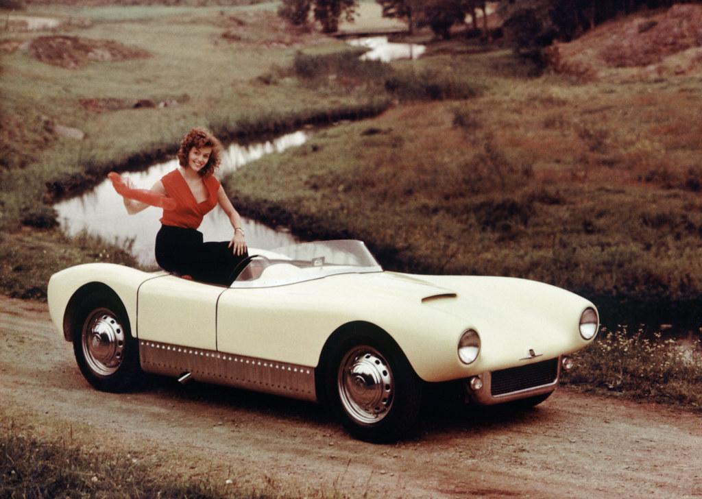 1956 Saab Sonett I General Motors Press Photo General Mo