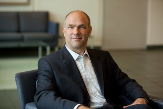 Andrew Sage, vice president for worldwide small business sales | by Cisco Pics