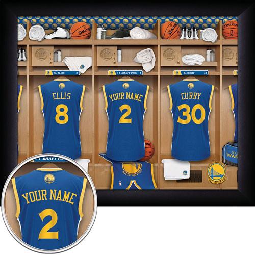 Golden state Warriors Locker Room Print | MVP Prints - By Pe… | Flickr
