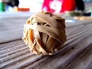 rubber band ball | by Mikayla Official