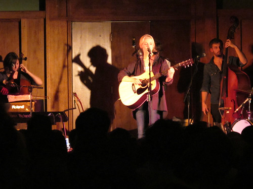 I tell you what, Laura Marling casts an unlikely shadow... | by Dave Gorman