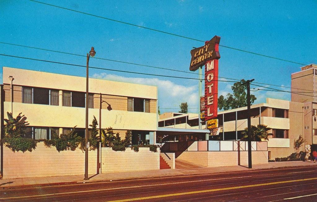 City Center Motel - Los Angeles, California