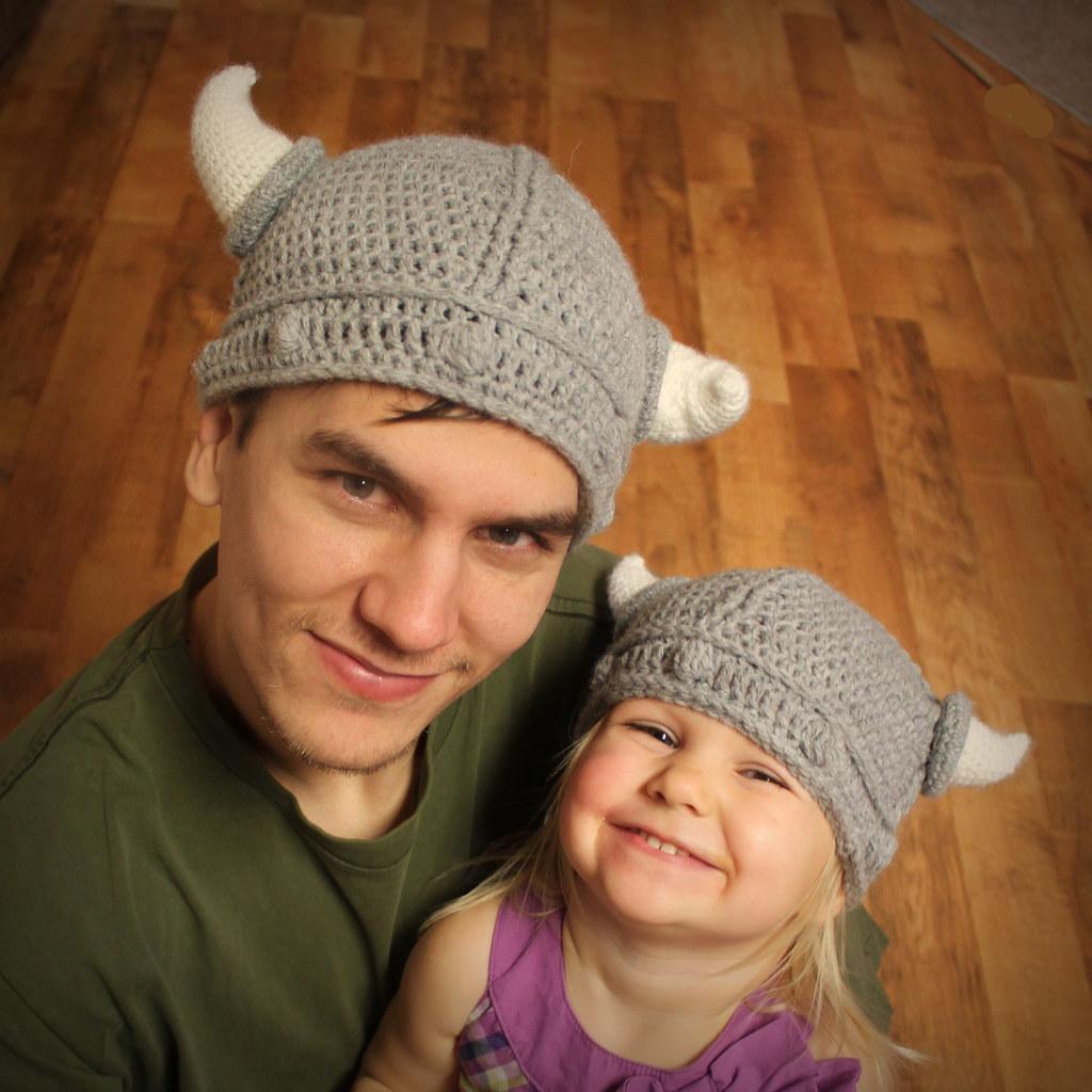 ... Easymakesmehappy Viking Hat Crochet Pattern  92a4ddaac5c9