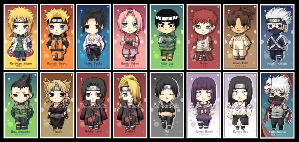 Naruto characters so cute animenger flickr naruto characters by animenger naruto characters by animenger voltagebd Image collections