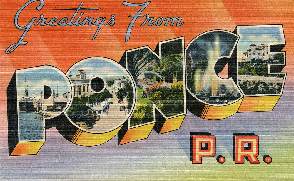 Greetings from ponce puerto rico large letter postcard flickr greetings from ponce puerto rico large letter postcard by shook photos m4hsunfo