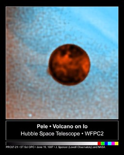 Hubble Captures Volcanic Eruption Plume From Io | by NASA on The Commons