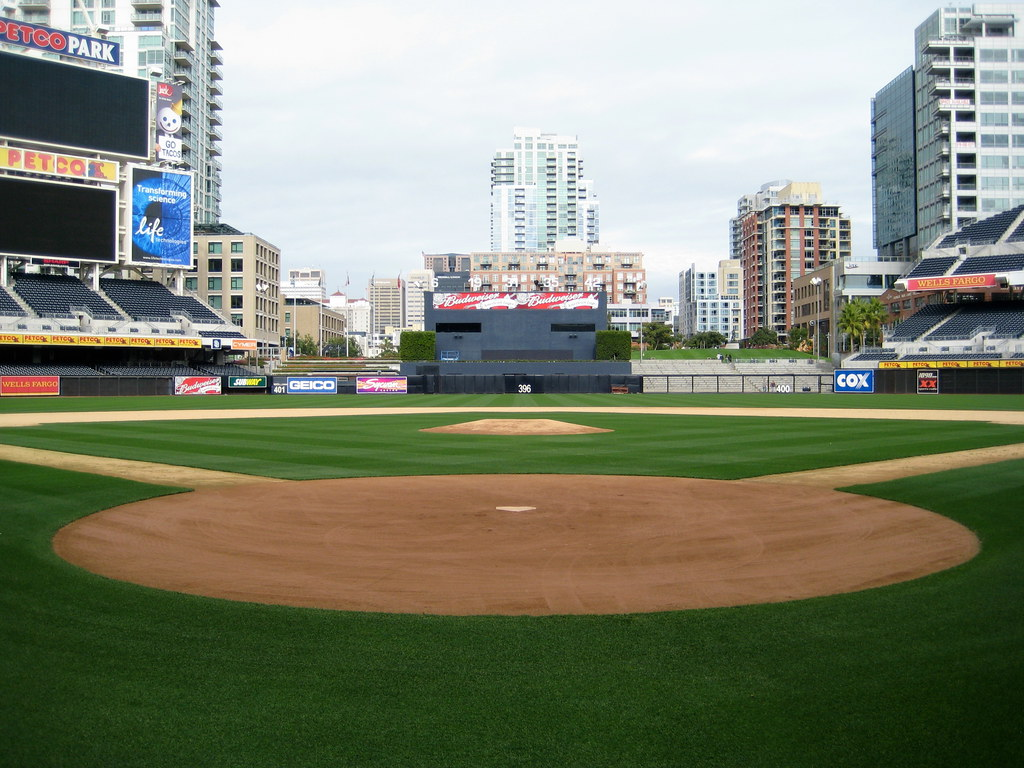 Dead Center From Home At Petco Park San Diego CA December 17