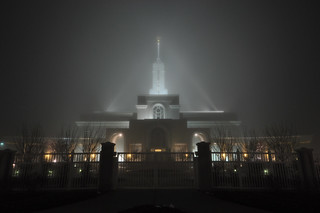 0836-Mount Timp LDS Temple in Fog 12-25-10 | by Adam's Attempt (at a good photo)