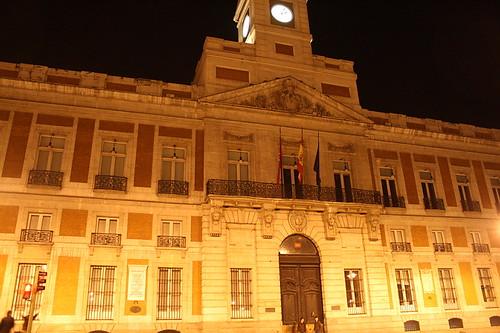Real casa de correos puerta del sol peurta del sol is for Casa de correos madrid