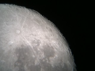 Moon using iPhone 4 | by influenceuk