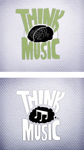 rough idea two - think music logo | by karli ingersoll