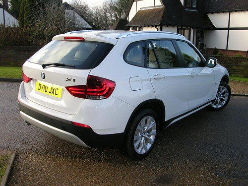 2010 bmw x1 sdrive se the car spy flickr. Black Bedroom Furniture Sets. Home Design Ideas