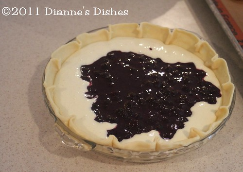 Blueberry Cheesecake Pie: Ready to Bake | by Dianne's Dishes