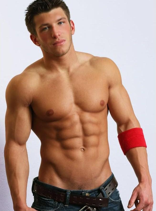Sexy hunky guys