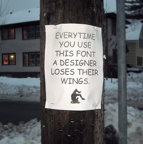 Comic Sans Sign | by phildesignart