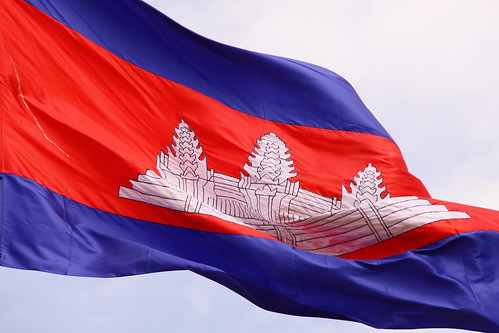 Flag Of Cambodia | by MykReeve