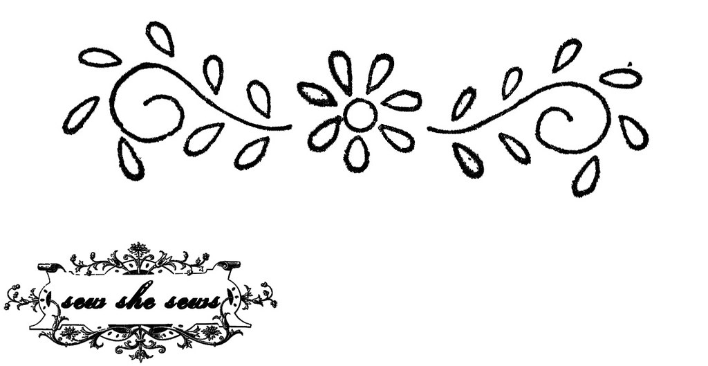 Vintage Floral Embroidery Pattern For Personal Use Joomoolynn Mesmerizing Floral Embroidery Patterns