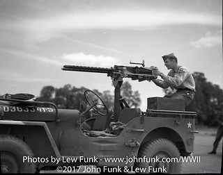 SFC Lewis Funk  Shooting Twin 50's | by John Funk from Golden Colorado