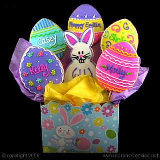 easter_cookie_bouquet | by Karen's Cookies