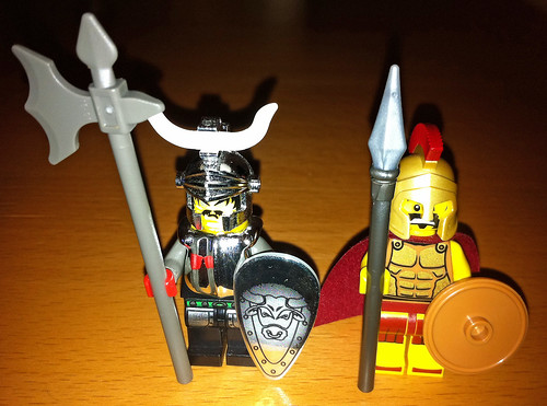 LEGO Collectible Minifigures Series 2 Spartan vs. Knights Kingdom I | by wiredforlego