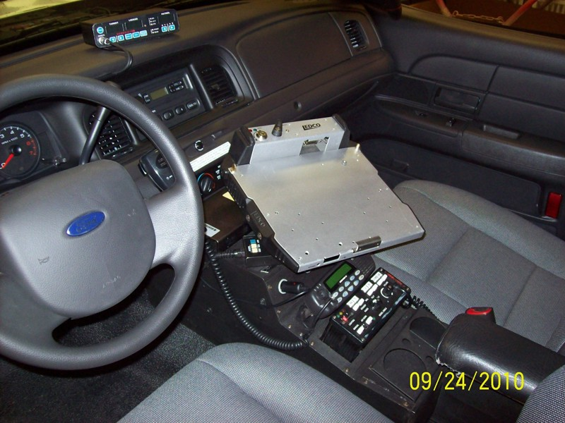 Police Crown Vic Console By Mbs