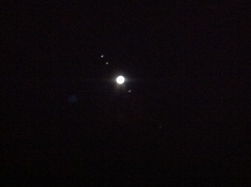 Jupiter and Moons using iPhone 4 | by influenceuk