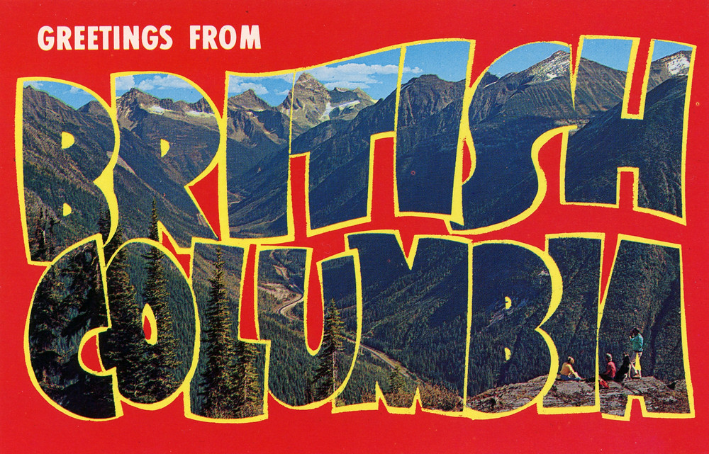 Greetings from british columbia canada large letter pos flickr greetings from british columbia canada large letter postcard by shook photos m4hsunfo