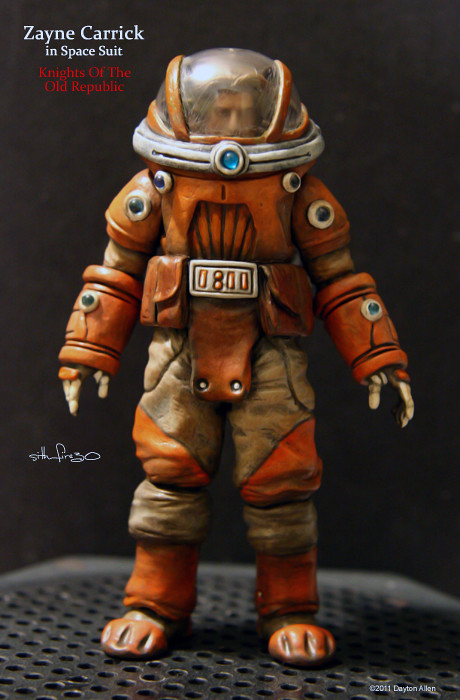 Zayne Carrick Spacesuit 1 From The Dark Horse Comic Series Flickr