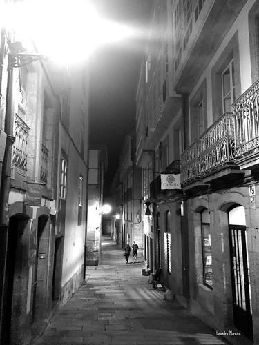 Santiago à noite