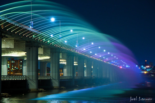Banpo Bridge Water Show | by joeleoj