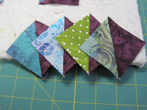 card trick block assembly | by white lotus quilting