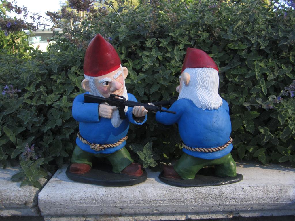 ... Combat Garden Gnomes 027 | By Thorssoli