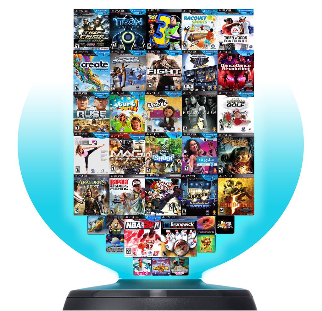 Amazon. Com: playstation move games: video games.