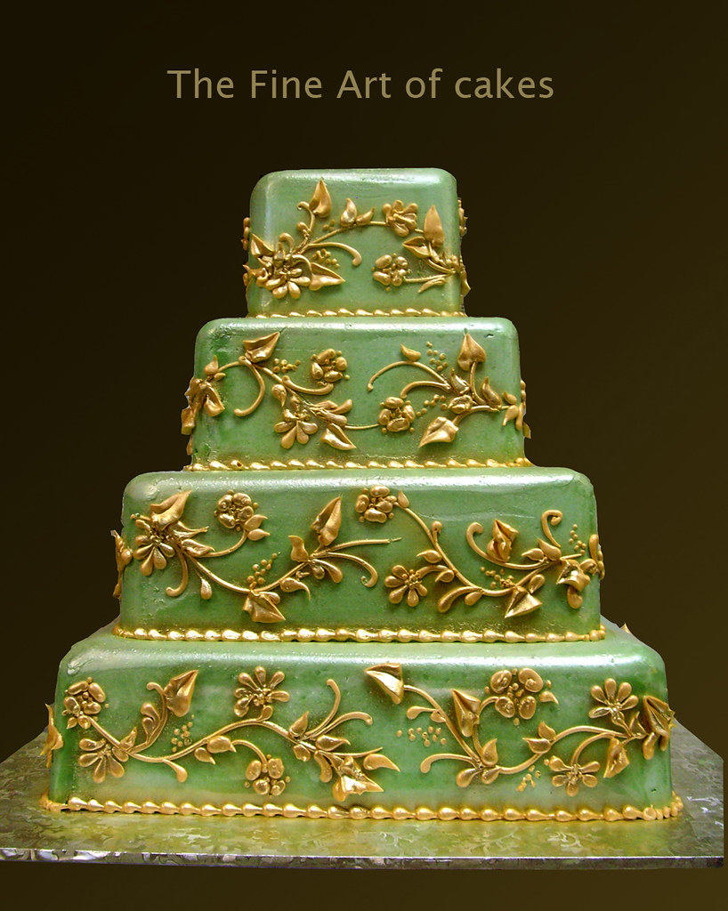 Renaissance Wedding Cake | www.fineartofcakes.com | Flickr