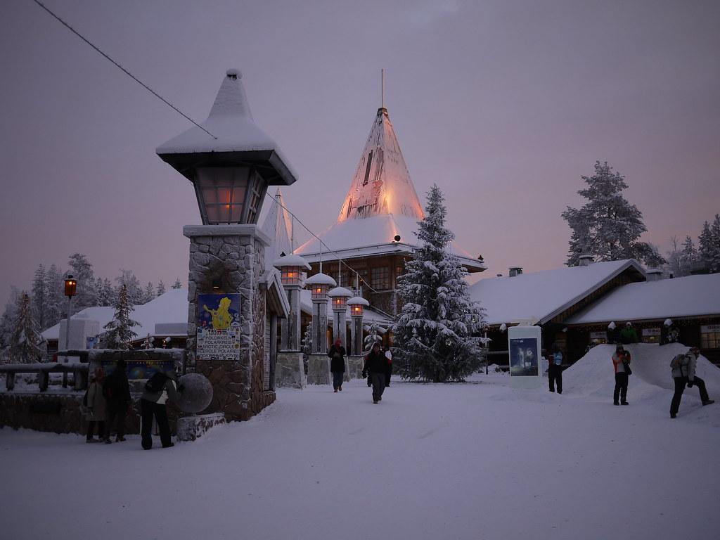 Rovaniemi, Finland- Santa Claus Village