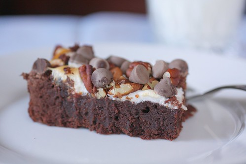 brownie and milk | by Madison Bistro