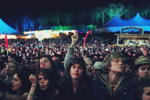 festival life, | by claire alice young