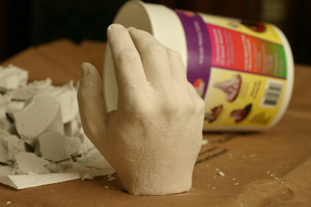 Plaster Cast in Alginate Mold | I bought a kit from a craft