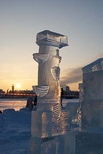 The Saint-Petersburg Ice Sculpting Festival | by LNatali