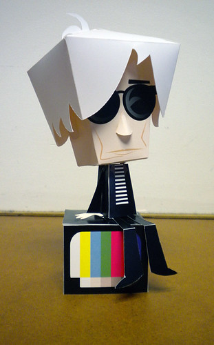 Andy Warhol papertoy | by Custom Paper Toys