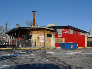 I-57 Rib House (former Shell station) | by find myself a city (1001 Afternoons in Chicago)