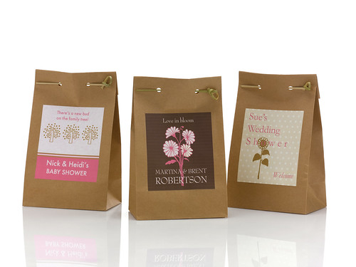 Favor Bag Labels | by BottleYourBrand