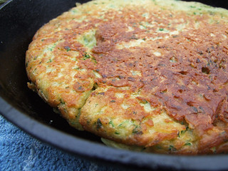 Parsley and spring onion potato cake | by Food Stories