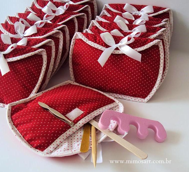 Lembrancinhas Madrinhas Necessaire Com Mini Kit Manicure Flickr