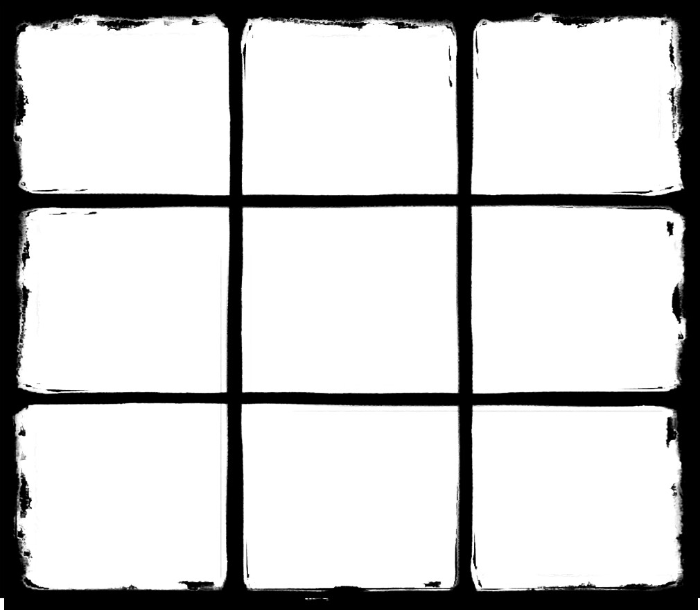 Grunge Window Frame