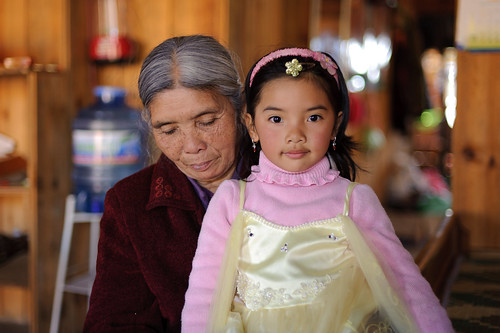 Little Vietnamese Princess & Grandma | by goingslowly