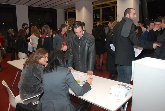 Acte de graduació EUM - Promoció 2009-2010