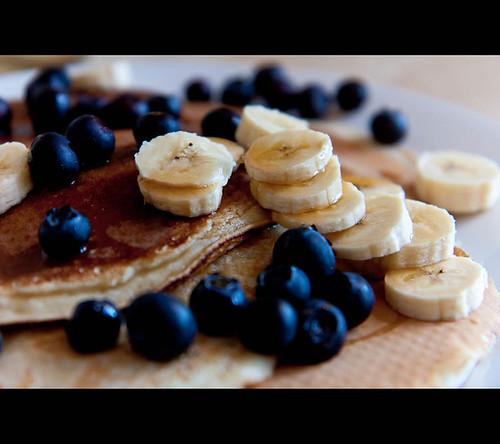 Blueberry Pancakes With Cake Flour