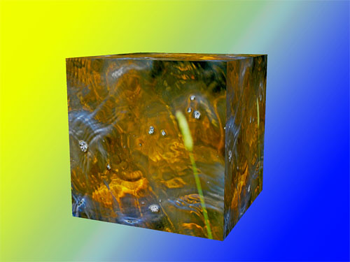 Golden Waters Cubed | by tomswift46 ( Hi Res Images for Sale)
