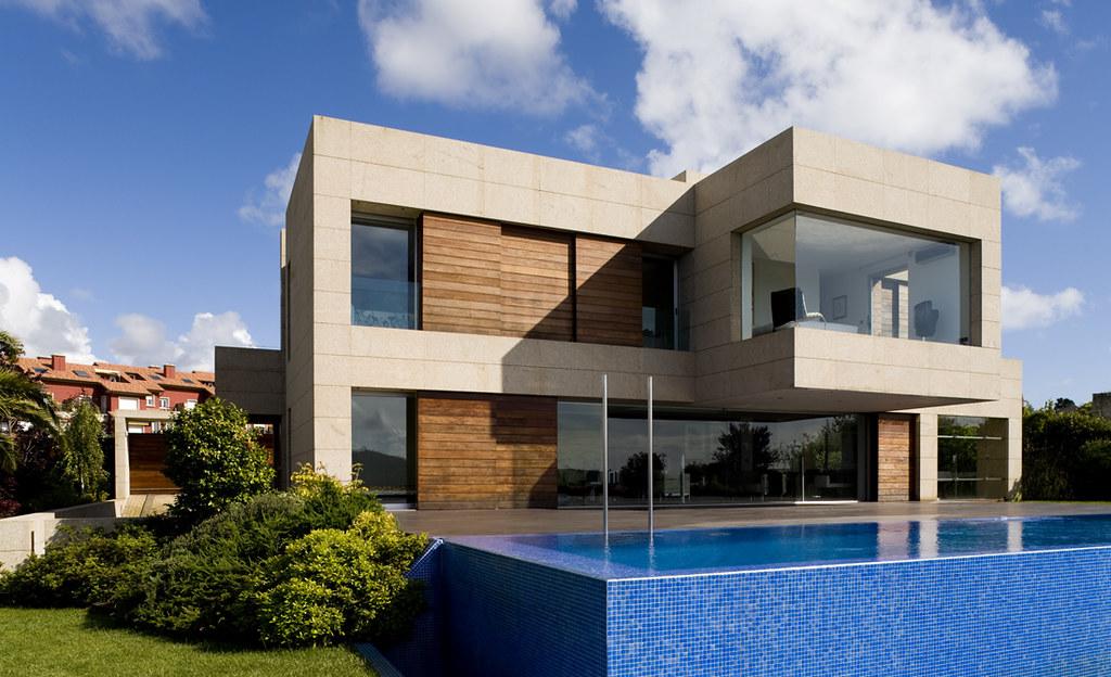 fachada de casas   vivienda en Galicia diseñada por A-cero J…   Flickr